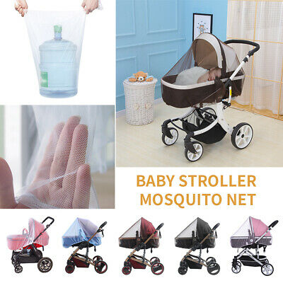 Baby Infant Stroller Pushchair Pram Mosquito Fly Insect Net Mesh Buggy Cover DFN