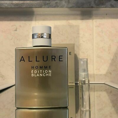 501baa7750 CHANEL - ALLURE Homme Edition Blanche *5ml Sample*