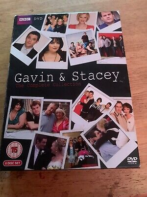 Gavin and Stacey: Series 1-3 and 2008  (Box Set) [DVD] free post