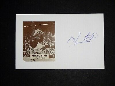 Nigel Sims Wolverhampton Wanderers,Aston Villa,Peterborough United signed