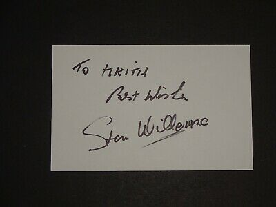 Stan Willemse Brighton,Chelsea,Leyton Orient signed postcard