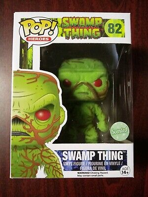 Funko Pop! Swamp Thing Scented Flocked PX Previews Exclusive #82 Heroes