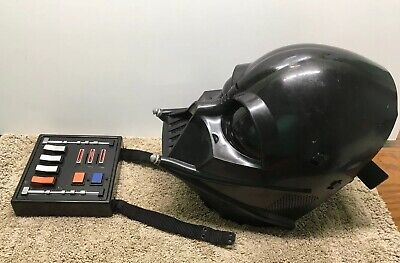 Star Wars, Lucas Films 2004 Darth Vader Electronic Talking Mask With Voice Box
