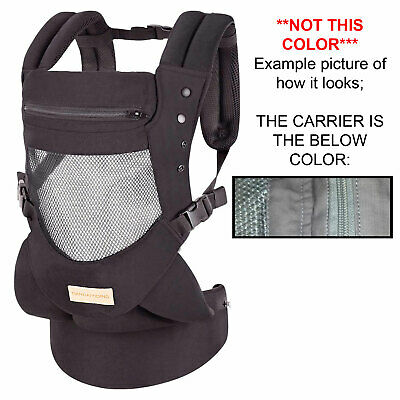 Tiancaiyiding Infant Toddler Baby Carrier Wrap BackPack Front or Back Hip Seat