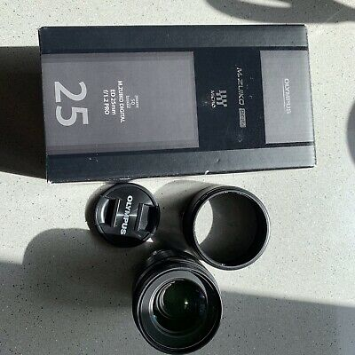 Olympus M.Zuiko ED 25mm F1.2 Pro Boxed, Excellent Condition.