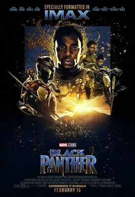 Black Panther Bus Shelter Poster 4x6