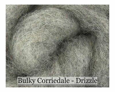Drizzle - Bulky Corriedale Wool - Shades of Grey Series - 16oz