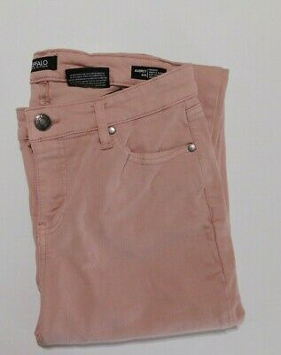 Buffalo Women's Aubrey Stretch Mid Rise Ankle Grazer 8/29 Mid Rise Rose NEW
