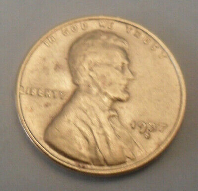 1937 S Lincoln Wheat Cent / Penny Coin   SDS   **FREE SHIPPING**