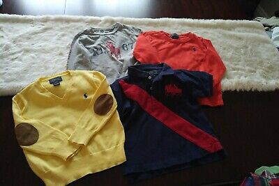 Boys lot (4) Polo Ralph Lauren 24 Month Tops - Polos, Tees, Sweater