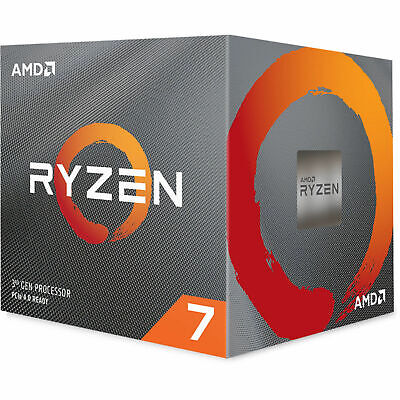 AMD AM4 Ryzen 7 3800X CPU 8 Core 16 Thread 32MB Cache 3.9 GHz Desktop Processor