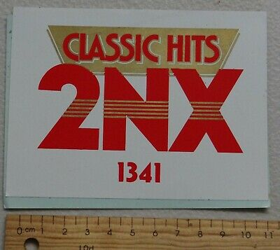 1 x CLASSIC HITS 2NX STEREO 1341 COLLECTABLE STICKER