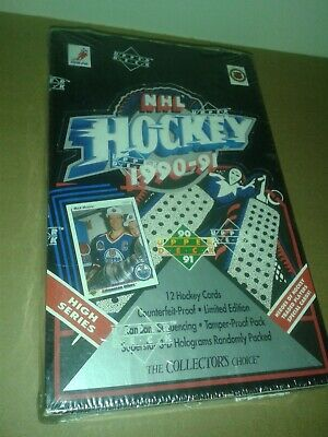 1990-91 UPPER DECK HOCKEY - HIGH SERIES - 1 UN OPENED FOIL PACK for $1.25