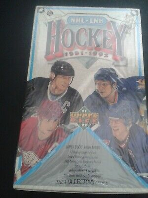 1991-92 UPPER DECK HOCKEY - HIGH SERIES - 1 UN OPENED FOIL PACK for $1.25