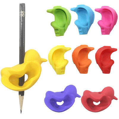 Writing Hold Pen Aid Grip Posture Correction Device Tool Children Pencil Holder