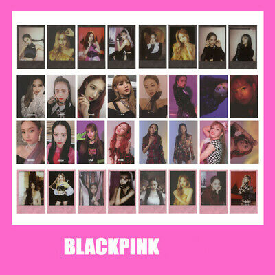 Blackpink Autograph Photocard Kill This Love Paper Photo Cards Collective Cards