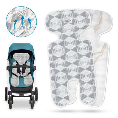 Baby Summer Stroller Mat Toddler Seat Breathable Pad 3D Mesh Fabric Cushion