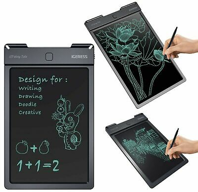 IGERESS 9 Inch Colorful Display LCD Writing Tablet Kids and Drawing Electronic B