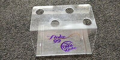 Acrylic Ice Cream Cone Holder Counter Top Display Stand Perspex Rack Used