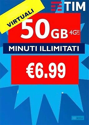 Coupon Passa A Tim Special 50Gb Minuti Illim Virtuali Coop Lyca Postemobile