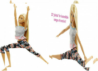 Barbie Made to Move Doll - Original with blonde hair, Original, Blonde
