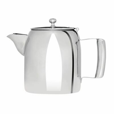 Olympia Cosmos Tea Pot with Heat Resistant Handle Made of Stainless Steel 910ml