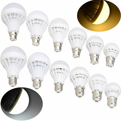 E27 ES B22 BC LED Energy Saving Bulb Globe Lights Lamp 3W 5W 7W 9W 12W 220V RM