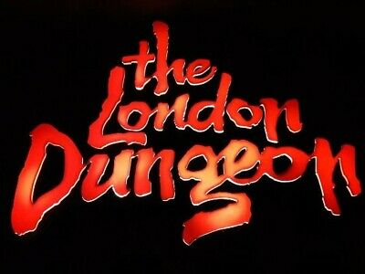 2 London Dungeon or Shrek Tickets  Unique Booking Code Pick Your Own Date & Time