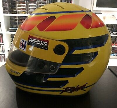 Race Used Helmet Stand21 Troy Lee Desgins Painted Prost Bercy