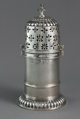 A Late 17th Century Silver Lighthouse Sugar Caster, London by SH