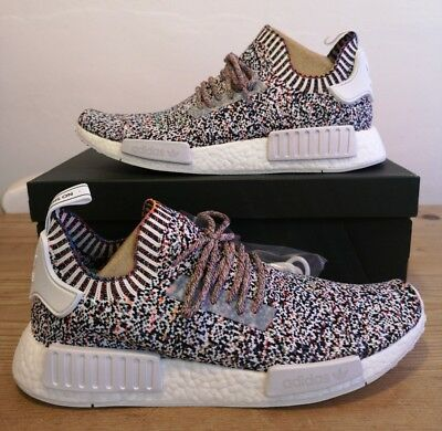 ae9bb854b08 BW1126 ADIDAS NMD R1 PK PRIMEKNIT MULTI STATIC COLOR NO SIGNAL PACK ...