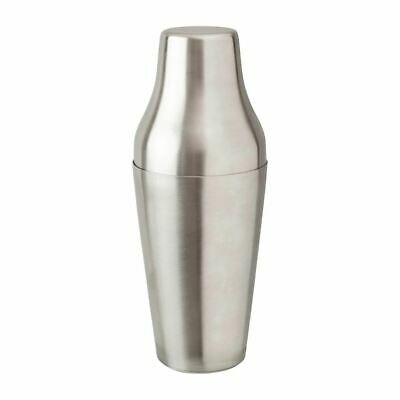 Beaumont Mezclar French Cocktail Shaker Capacity - 600ml / 21oz Stainless Steel