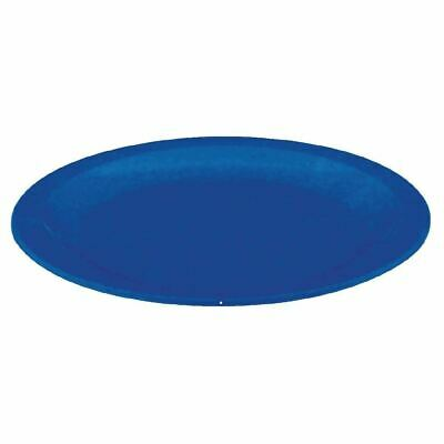 """Kristallon Polycarbonate Plates in Blue - x12 - Virtually Unbreakable 230mm / 9"""""""