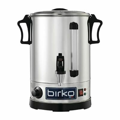 Birko Commercial Hot Water Urn 1009020 Non-Drip Tap Container Kitchen