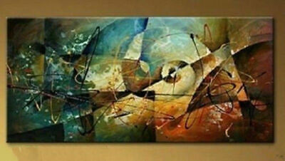 VV638 Modern Large Abstract hand-painted Art Oil Painting Wall Decor canvas