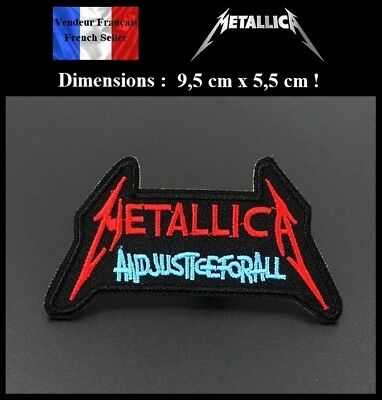 Écusson Brodé Thermocollant NEUF ( Patch Embroidered ) - Metallica ( Ref 1 )