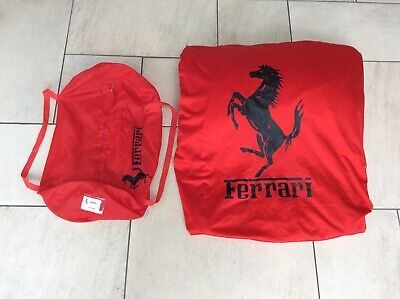 FERRARI 355 Spyder INDOOR CAR COVER + BAG GENUINE ORIGINAL FERRARI ACCESSORY