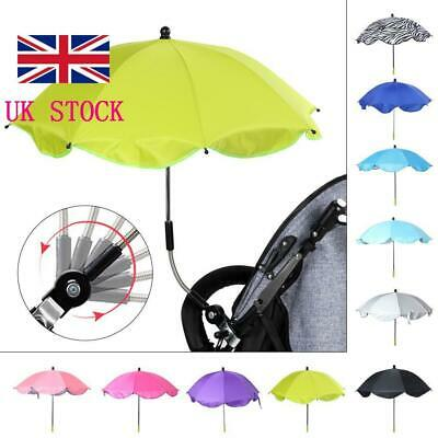 Universal Infant Parasol SunUmbrella Shade Maker Canopy for Pushchair Pram Buggy