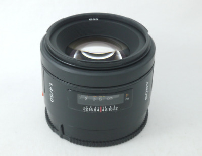 Excellent Condition Sony SAL 50mm f/1.4 AF Lens
