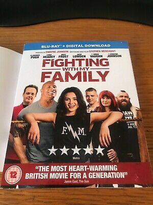 Fighting With My Family signed Blue-ray 2019 new