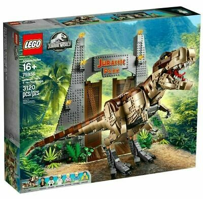 LEGO Jurassic World: Jurassic Park T. Rex Rampage Exclusive Set 75936 New/Sealed