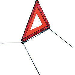 Car Red Warning Triangle Reflective Road Safety Hazard Emergency Breakdown
