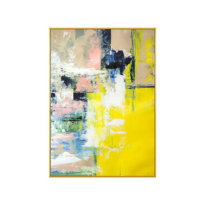 VV646 Modern Large Hand-painted abstract oil painting at canvas frameless 48''