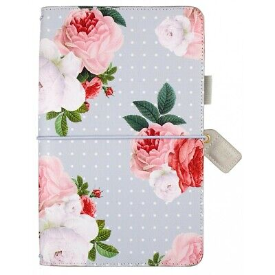 SALE - Websters Pages Traveler's Notebook Grey Floral