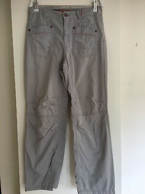 Boys Trousers M&S Age 12 Light Grey With Adjustable Waist. Used
