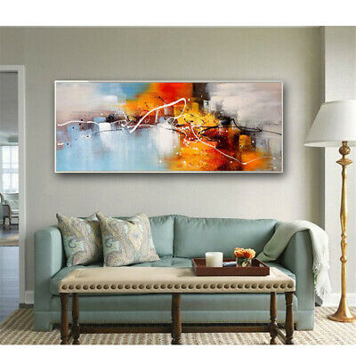 VV650 Modern Large Hand painted abstract oil painting on canvas Home Decoration