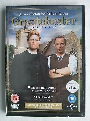 Grantchester (Series One) (**IMPORTANT** Region 2) (2-disc dvd set) Brand New