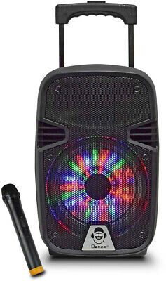 iDance Groove Rechargeable Bluetooth Party Sound System Disco Lighting Lights
