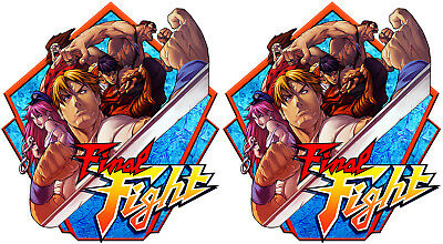 Final Fight Arcade Side Art Cabinet Graphics For Reproduction