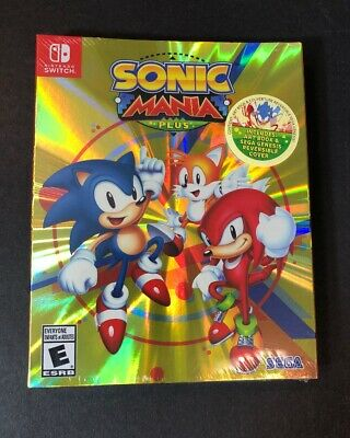 Sonic Mania Plus [ Launch Bonus Edition ] (Nintendo Switch) NEW